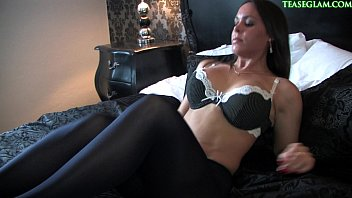 38.Lingerie fetish video