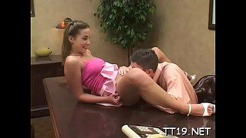 lovely girl lures tutor