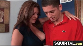 Teen Latina Squirts while getting fucked 11