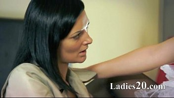 two unbelievable extraordinaire lesbos using strap