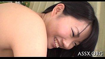 Moist asian blowjob after hawt anal