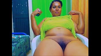 cam plaything showcase with a torrid ebony plumper.