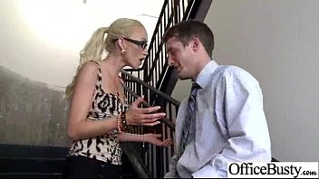 Sex Tape With Real Sluty Big Tits Office Girl (madison scott) movie-27