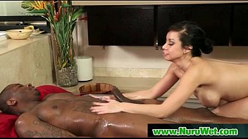 wild masseuse gives nuru rubdown 28