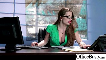 bigtits office woman veronica vain drilled.