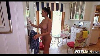 inexperienced latina maid 063