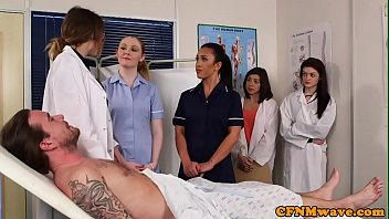 brit cfnm nurses dicksucking patient