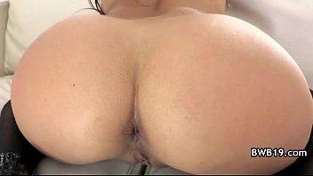 Sexy Big Ass slut in bikini enjoys hard anal