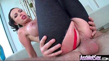 (Nikki Benz) Huge Ass Oiled Sexy Girl Enjoy Anal Sex video-26
