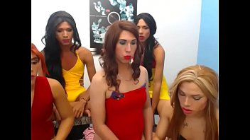 group of ladyboys - ifap2infosexymafiadollsofbigdicks