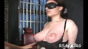 ruthless confine bondage time for curvaceous damsel with.