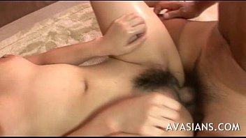 Busty asian escort deep fingered after blowjob