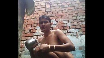 indian bathing damsel