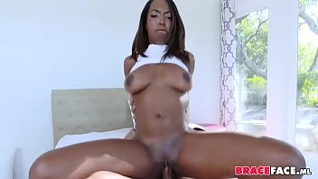 braceface ebony gf jism in facehole