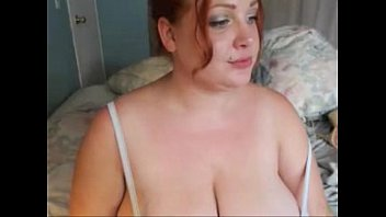passionate ginger-haired plumper with ample mounds.