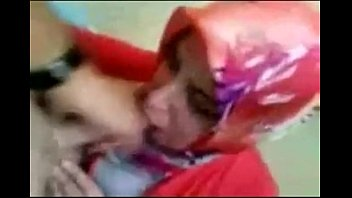 turkish hijab blowage in home atmosphere