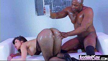 Anal Sex Tape With Big Oiled Butt Sluty Sexy Girl (Aleksa Nicole) video-05