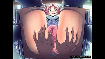 sumptuous anime chicks devotee service slideshow.