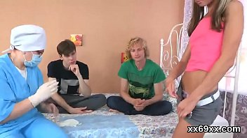 beau assists with hymen corporal and humping of.