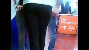 RICO CULO EN CALZAS LYCRA - LEGGINGS SPANDEX