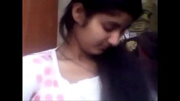 punjabi supah-cute chick pressing her titties