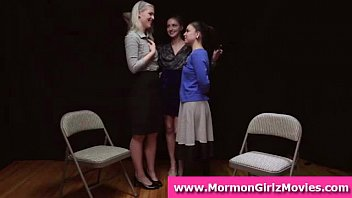 mormon amateurs in undergarments in girl-girl.