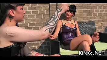 gimp gets his arse fisted and jock pumped.