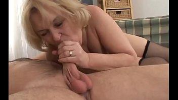 enticing pornography with elder grandmother