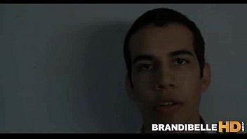 brandi belle gets spunk on her.