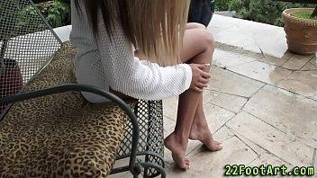 honeys angelic feet cummed