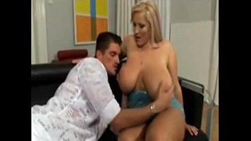 good-sized breast silver-blonde plus-size deep throats him off.