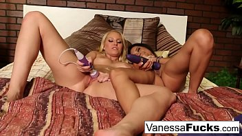 two warm youthful pornographic starlets fap next to.