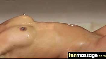 Deepthroat Blowjob From Big Tits Massage Girl 21