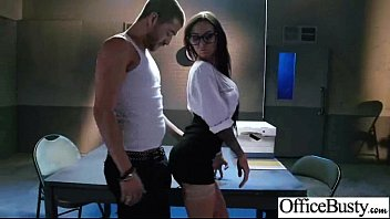 brandy aniston office chick with fat orb udders.