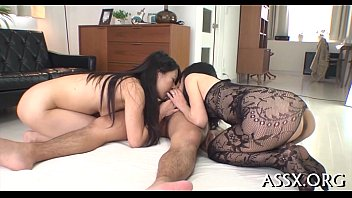 chinese cowgirl with hefty assfuck intercourse