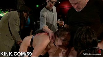 filthy victim dame unloads and screwed.