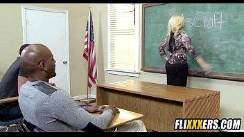 ash-blonde schoolteacher gang-banged at school 1