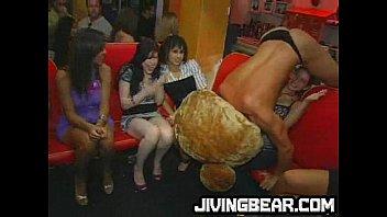 CFNM blowjobs for big cock dancing bear