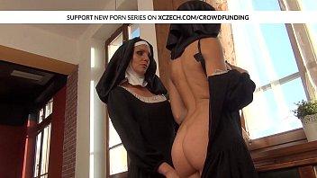 catholic nuns gobbling muffs