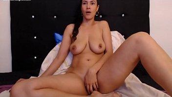 Gorgeous latina MOM 37yr sitting home
