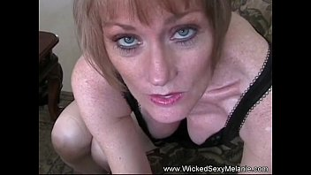 kinky unexperienced jizm swallower melanie