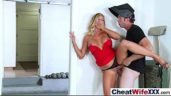 (samantha saint) Slut Cheating Housewife Banged Hard Style mov-24