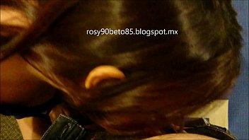 Rosy 25 de Mexico DF ... Sesion en hotel mamando Parte 2