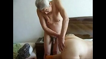 grandmother hotwife very first-timer home made