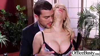 Lovely Worker Slut Girl (sarah vandella) With Round Big Boobs Bang In Office clip-28
