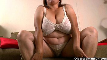 silky nylon get grannies brenda and rosaly in.
