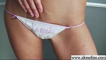 Masturbation Using Dildos By Horny Alone Girl (britney belle) clip-06
