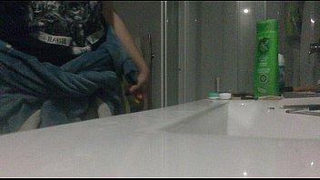 legal yo lady caught on covert shower webcam.