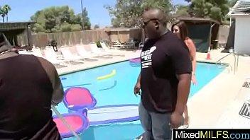 Hard Style Sex Scene With Black Cock In Wet Slut Milf (raquel devine) movie-21