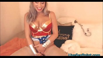 wonder girl as one real yankee.